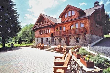 Horské domy - ubytování v Krušných horách