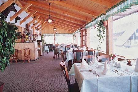 Ubytování na horách - Horské domy v Krušných horách - restaurace
