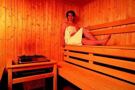 Ubytování na horách - Horské domy v Krušných horách - sauna